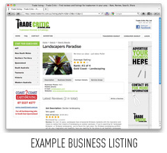 Example Listing